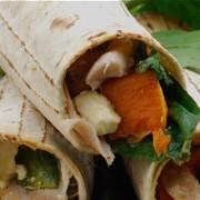 Kumara-Chicken-&-Spinach-Lunch-Wraps