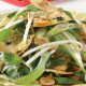Mountain-bread-munchies-with-Asian-green-salad- showing-bok-choy-bean-sprouts-and-peanuts.