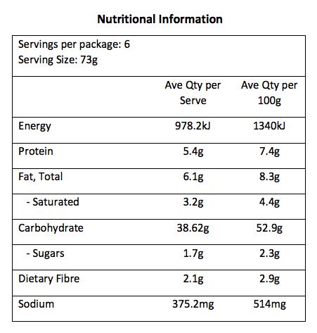 gerrys-wraps-large-flour-tortilla-nutrition-table