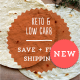 NEW KETO AND LOW CARB WRAP PACK