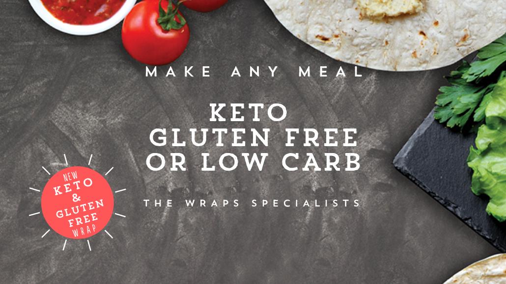 Keto Gluten Free or Low Carb Wrap