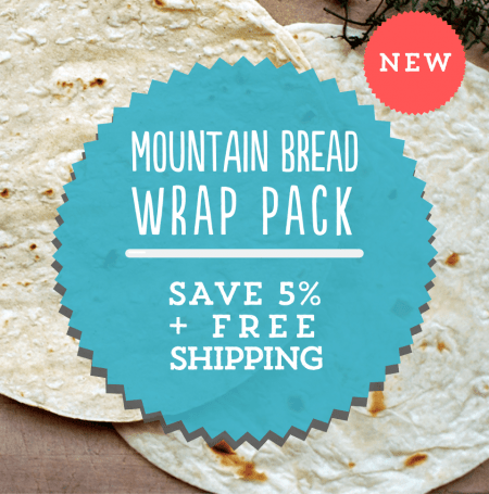 Mountain Bread Wrap Pack